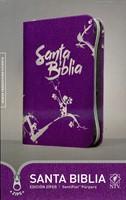 Santa Biblia NTV, Edición zíper (Senti Piel) [Libro]