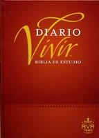 Biblia RVR 1960 Diario Vivir Estudio Vino