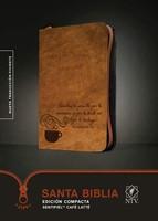 Santa Biblia NTV Compacta Café