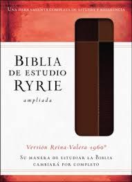 Biblia de Estudio Ryrie Ampliada Piel