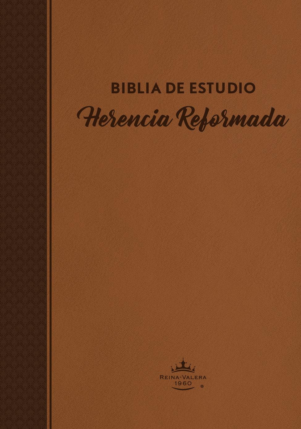 Biblia de Estudio Herencia Reformada - Tapa Dura