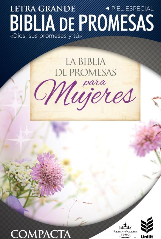 Biblia de Promesas Floral Compacta RVR60