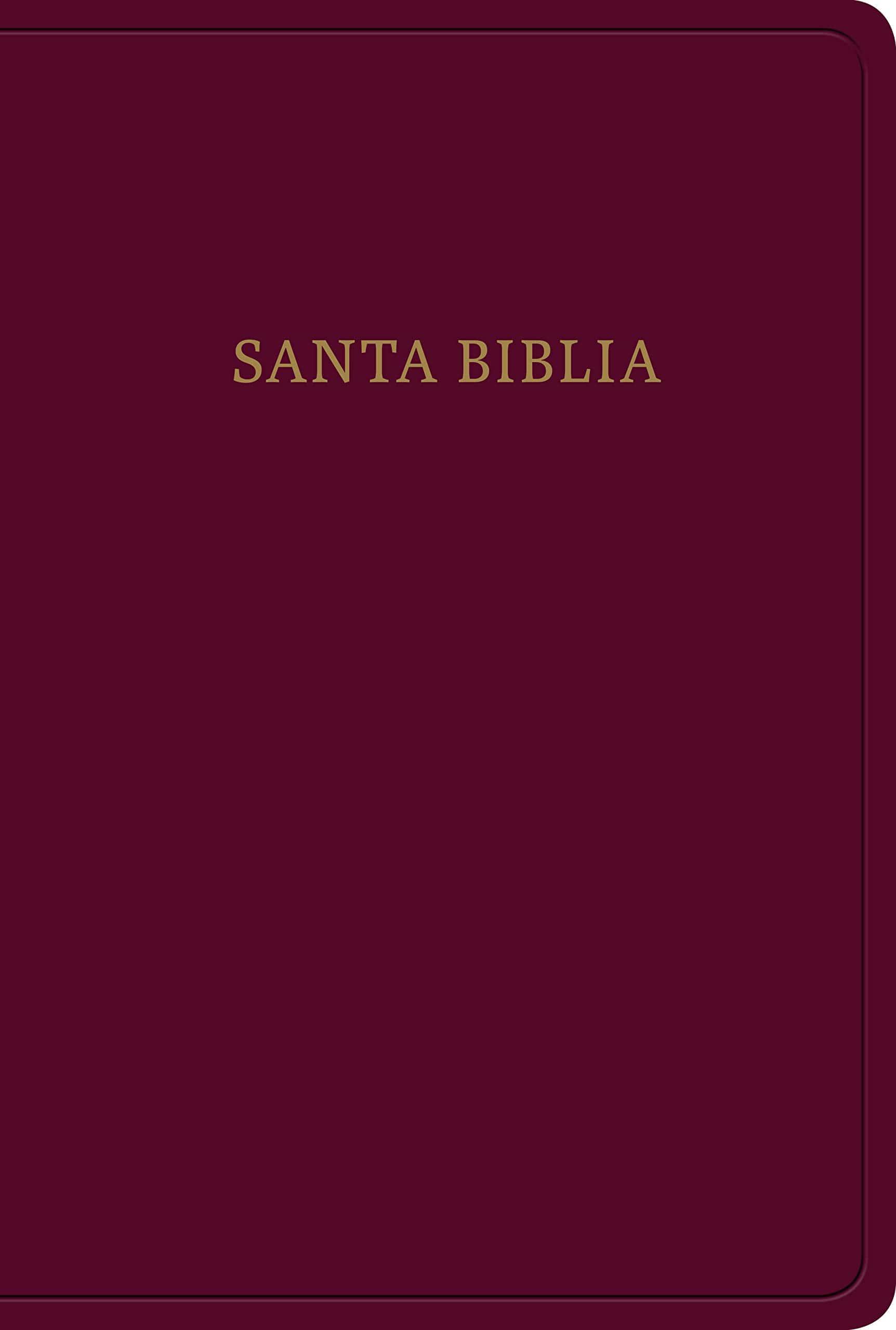 Biblia RVR60 Manual Letra Grande