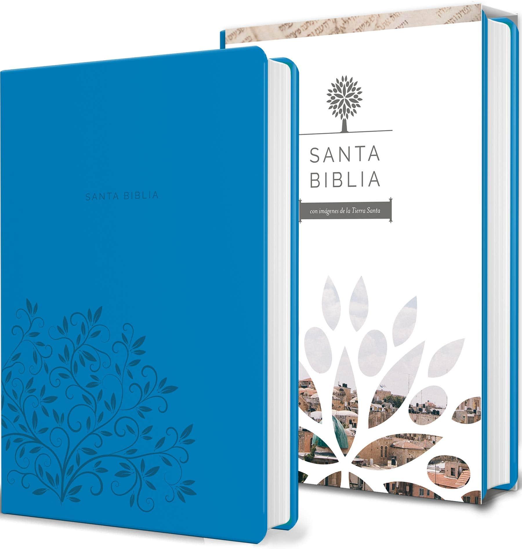 Biblia Tierra Santa RVR6060 Letra Grande Manual