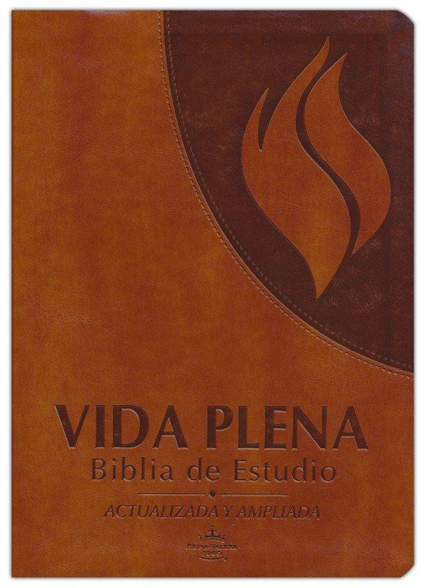 Vida Plena Biblia de Estudio Simil Piel