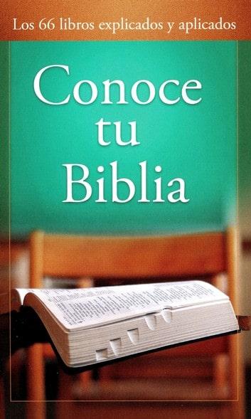 Conoce tu Biblia - Nueva Ed.