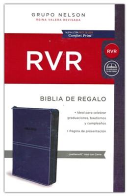 Biblia RVR Estilo Jean con Cierre Delgada