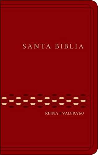 Biblia RVR60 Granate Flexible vinil