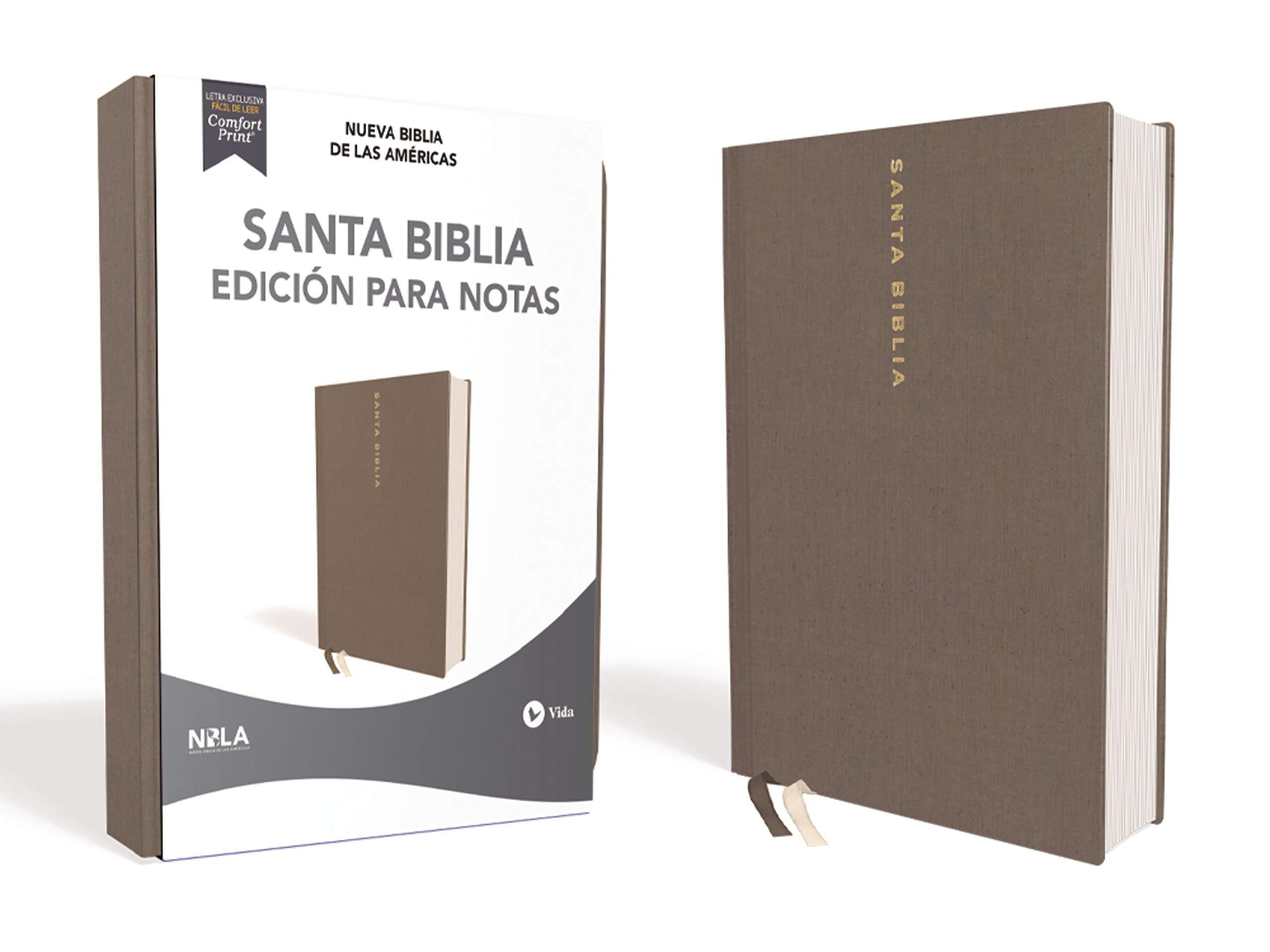 NBLA Santa Biblia Edición para Notas