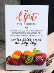 Cuadro Madera Pequeño Frutos