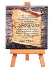 Mini cuadro lienzo Esperanza