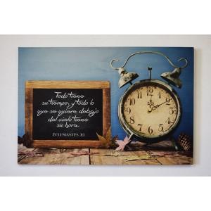 Lienzo Canvas Extra grande  Reloj