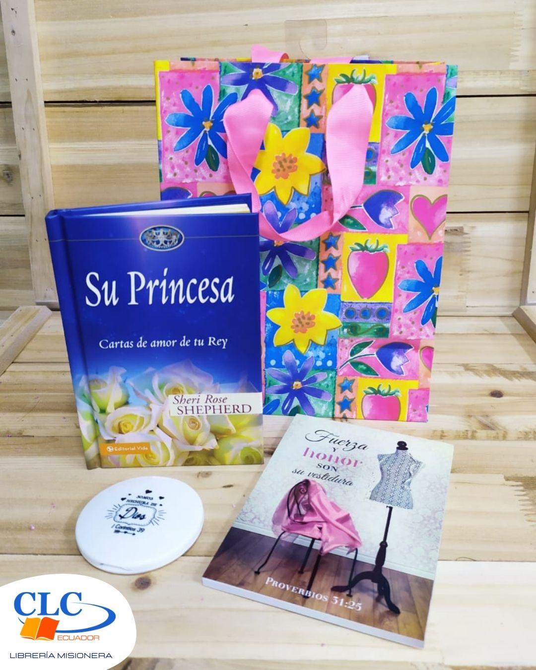 Su Princesa Cartas de Amor + Notepad + Coquetera + Funda de regalo pequeña
