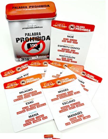 JUEGO DE PREGUNTAS BIBLICAS PALABRA PROHIBIDA