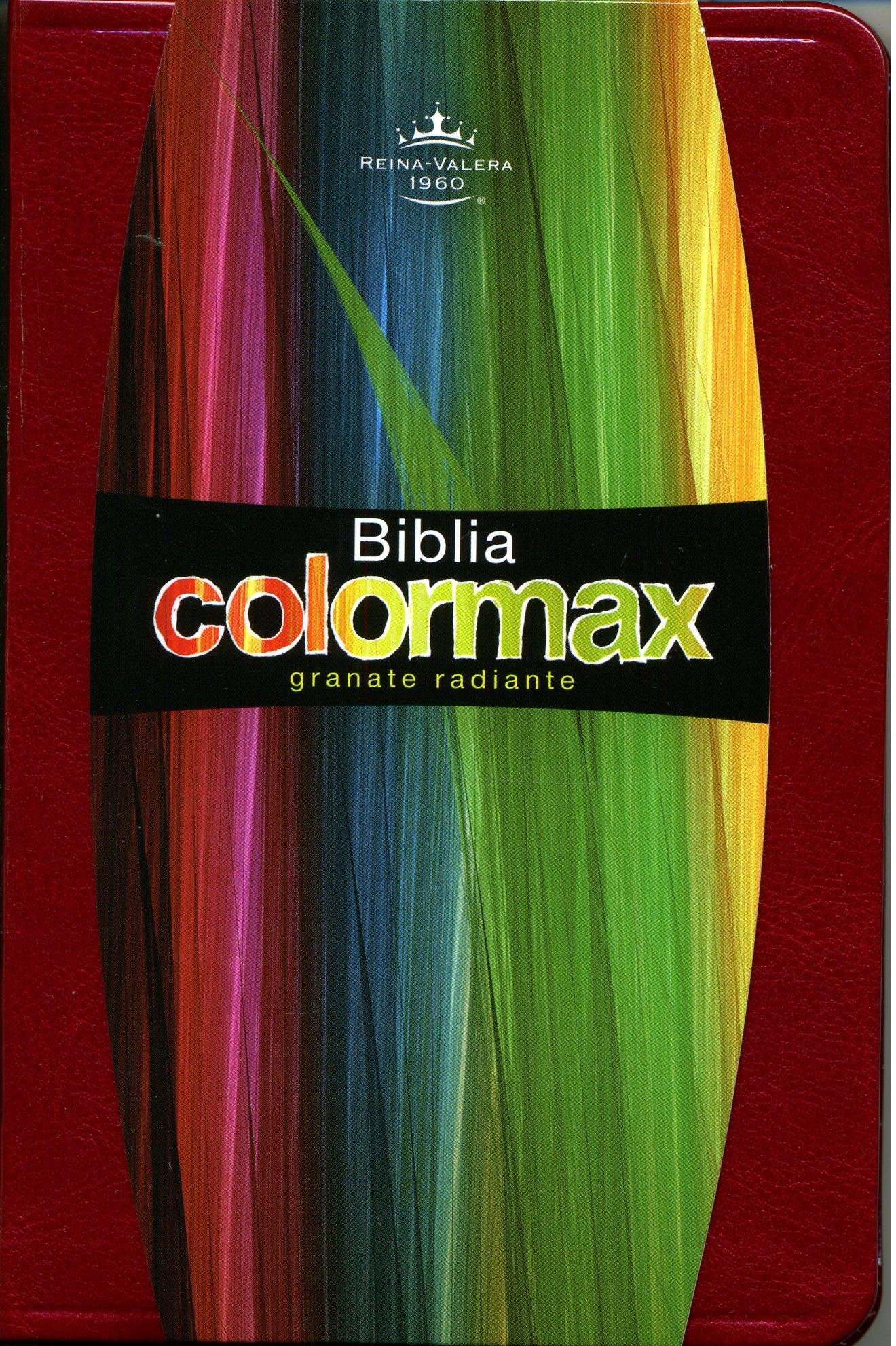 Biblia Colormax Granate Roja