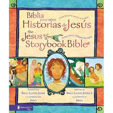 Biblia para Niños Historias de Jesús Bilingüe