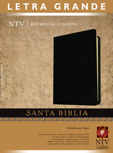 Biblia NTV Referencia Ultrafina Letra Grande