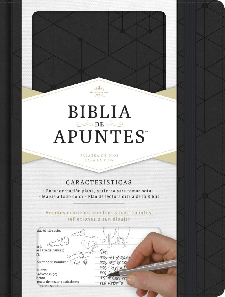 Biblia de Apuntes Negro RVR60