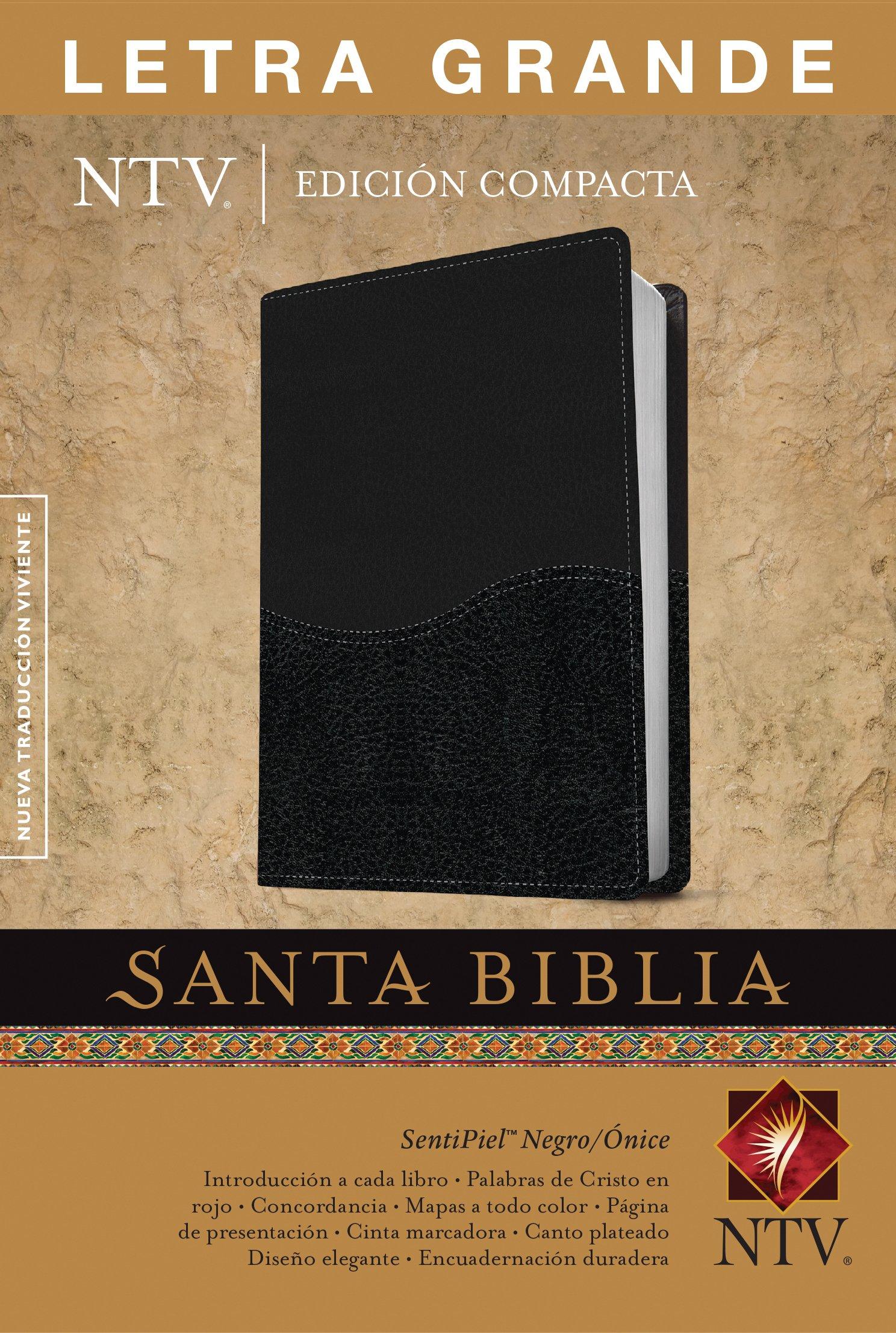 Biblia NTV Edición compacta - Letra Grande