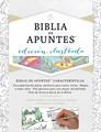 Biblia de Apuntes Blanco Tela Para Colorear RVR1960